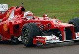 """""""Ferrari"""": vėluojame su bolidu, tačiau tikimės pasivyti"""