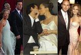 Lopez gyvenimą kausto baimė: 5-erios sužadėtuvės ir aistringi meilės romanai