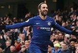 """Atviru futbolu paremtą Londono derbį laimėjo trenerio klausimą sprendžiantis """"Chelsea"""""""