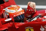 "Kimi Raikkonenas: ""Ferrari"" dabar daug stipresnė"