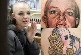 Visiška tragedija: gerbėjų tatuiruotės tapo interneto bomba