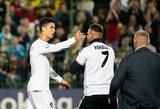 Pamišęs Ronaldo sirgalius išbėgo į aikštę – norai neišsipildė