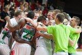 Paaiškėjo ULEB Eurolygos vyrų krepšinio turnyro krepšelių sudėtys