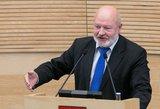Vyriausybės patvirtinimu džiaugiasi ne visi: Gentvilas posėdžio metu negailėjo kritikos Skverneliui