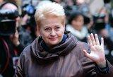 Dalia Grybauskaitė: nuo geležinės ledi iki rūpestingos globėjos
