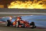 """""""Ferrari"""" džiaugiasi K. Raikkonenu, tačiau sutarties dar nepratęsia"""