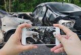 Atskleidė, kurie automobiliai dažniausiai sukelia avarijas