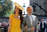 Karališkųjų vestuvių metu –akibrokštas G. Clooney: garsi moteris jį atstūmė