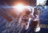 Tarptautinėje Kosminėje Stotyje – panika: kosmonautas gali nebegrįžti į Žemę?