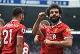 """""""Liverpool"""" netikėtai prarado taškus prieš lygos autsaiderius"""