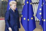 D. Grybauskaitė pažėrė kritikos Europai