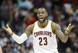 """NBA. Čempionai stebuklingai krito po pratęsimo, """"Timberwolves"""" – pergalingo varžovo metimo"""