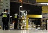 Naujųjų metų išvakarėse Mančesterio geležinkelio stotyje peiliu sužeisti trys žmonės