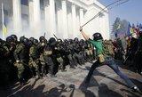 Prie Ukrainos dūmos nacionalistai sukėlė riaušes