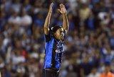 Šmaikštuolis Ronaldinho apmovė vartininką, tačiau jo įvarčio teisėjas neįskaitė