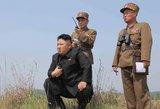 Seulas: Šiaurės Korėja baigia atstatyti raketų leidimo kompleksą