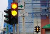 Nuo šiandien mažėja greitis keliuose ir keičiasi šviesoforų signalai