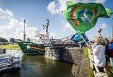 """Rusija turės kompensuoti olandams nuostolius dėl laivo """"Arctic Sunrise"""" sulaikymo"""