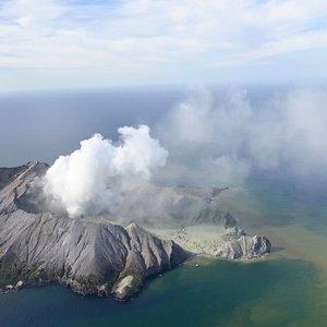 Naujojoje Zelandijoje – turistų pamėgto ugnikalnio išsiveržimas: skaičiuojamos aukos