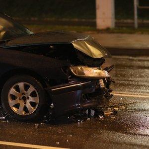 Nelaimė Vilniuje: susidūrė du automobiliai, yra nukentėjusių