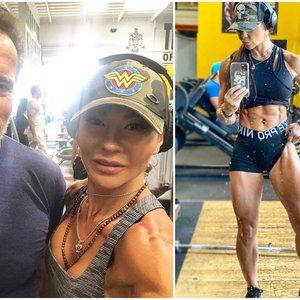Ši aktorė – nenugalima: Schwarzeneggeriui pasakė, kad taps moteriška jo versija