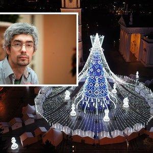 Išskirtinis Vilniaus eglės kūrėjų interviu: kaltinimai plagiatu, kova su Kaunu ir netikėtas jos užgesimas