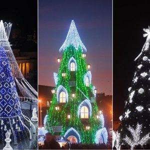 Vilniaus eglutė – kalėdinis šalies koziris: palyginkite, kaip jos keitėsi kasmet