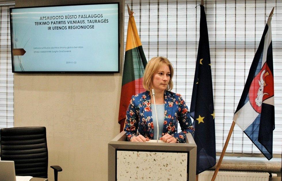 Atvejo vadybininkė Jurgita Gračiovienė. Linos Jakubauskienės nuotr.
