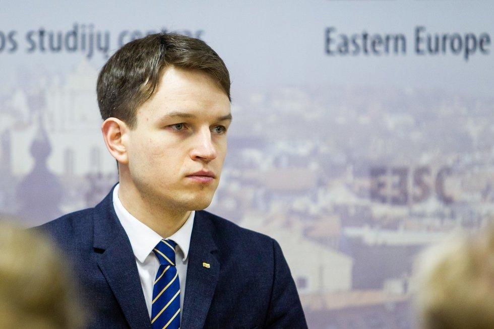 I. Šimonytė pristatė užsienio politikos gaires