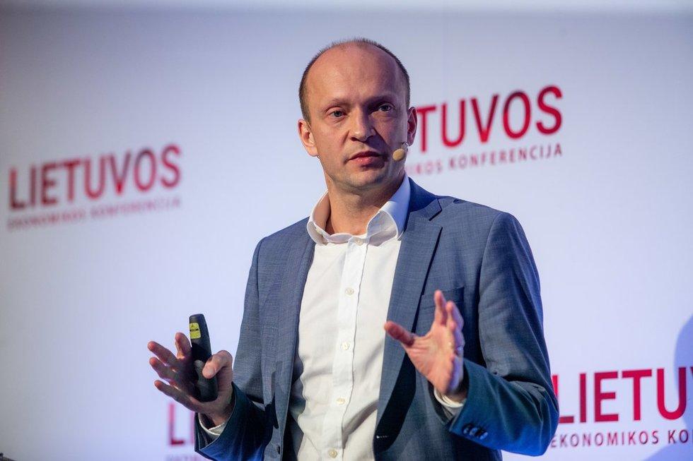 Nerijus Mačiulis, Lietuvos ekonomikos konferencija 2019 (J.Auškelis/Fotodiena.lt)