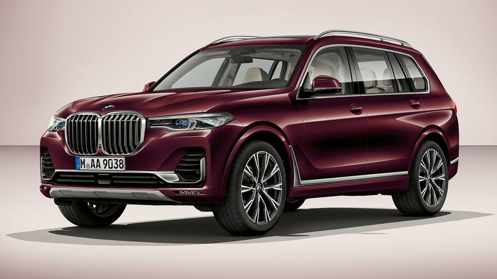 BMW X7 (gamintojo nuotr.)