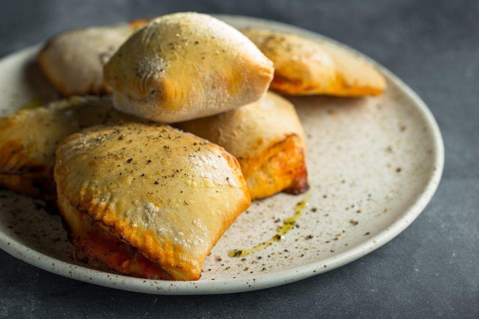 Perlenkta mini pica Calzone