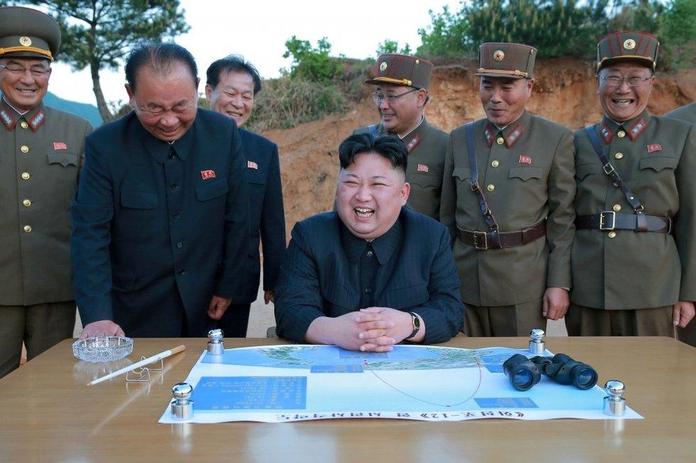 Septyni būdai pašalinti Kim Jong Uną (nuotr. SCANPIX)