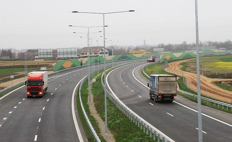 """magistralės """"Via Baltica"""" dalis tarp Kauno ir Marijampolės (Susisiekimo ministerijos nuotr.)"""