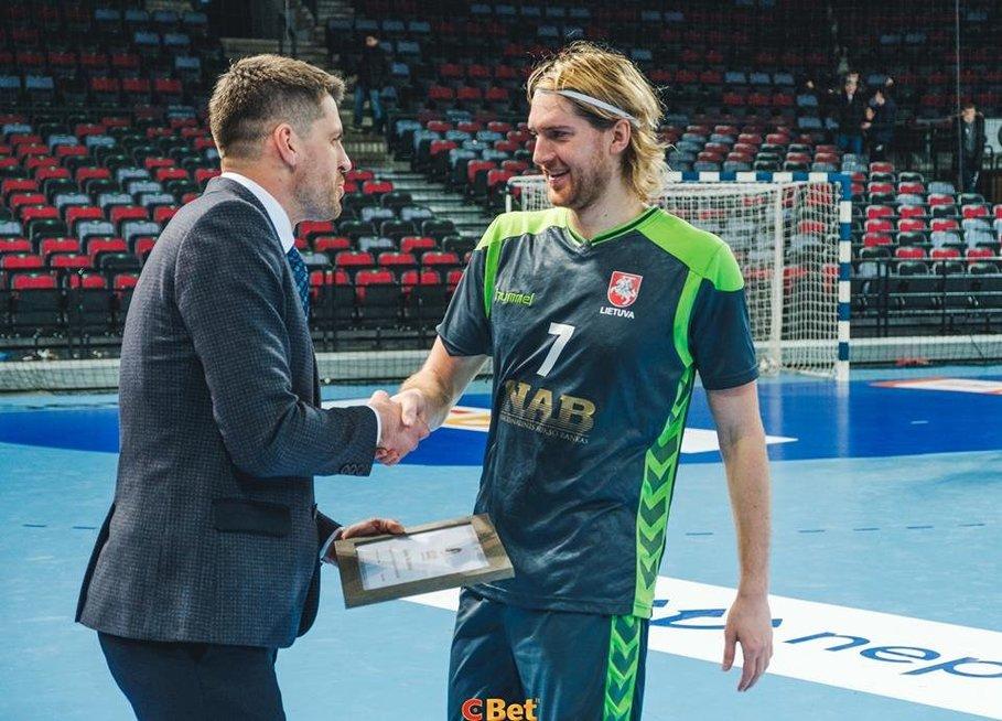 Donatas Pasvenskas ir Aidenas Malašinskas (nuotr. rankinis.lt)
