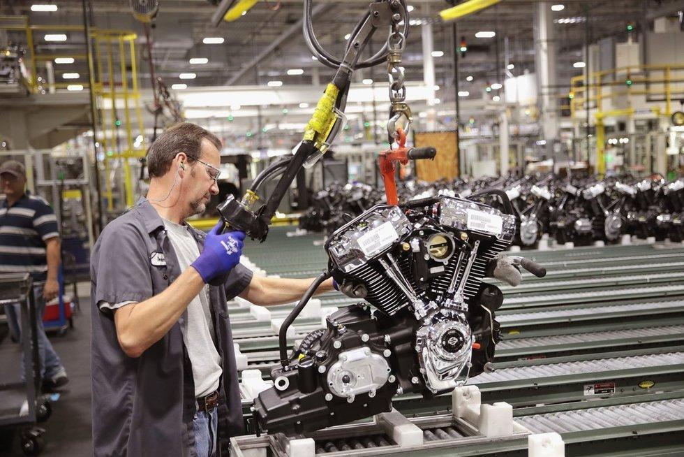 """""""Harley Davidson"""" variklis (nuotr. SCANPIX)"""