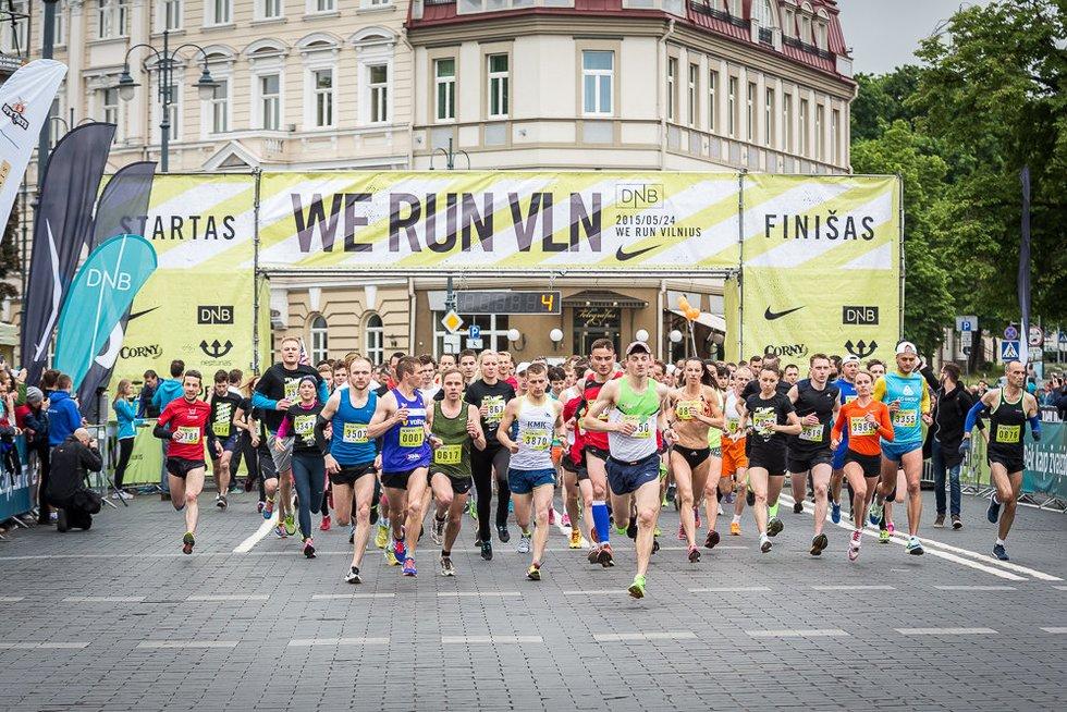 Sekmadienį Vilniaus centre bus ribojamas eismas (nuotr. Organizatorių)