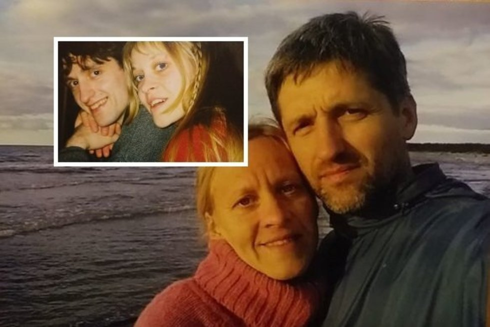 Eglė ir Gintaras Kručinskai susipažino prieš 30 metų (nuotr. facebook.com)