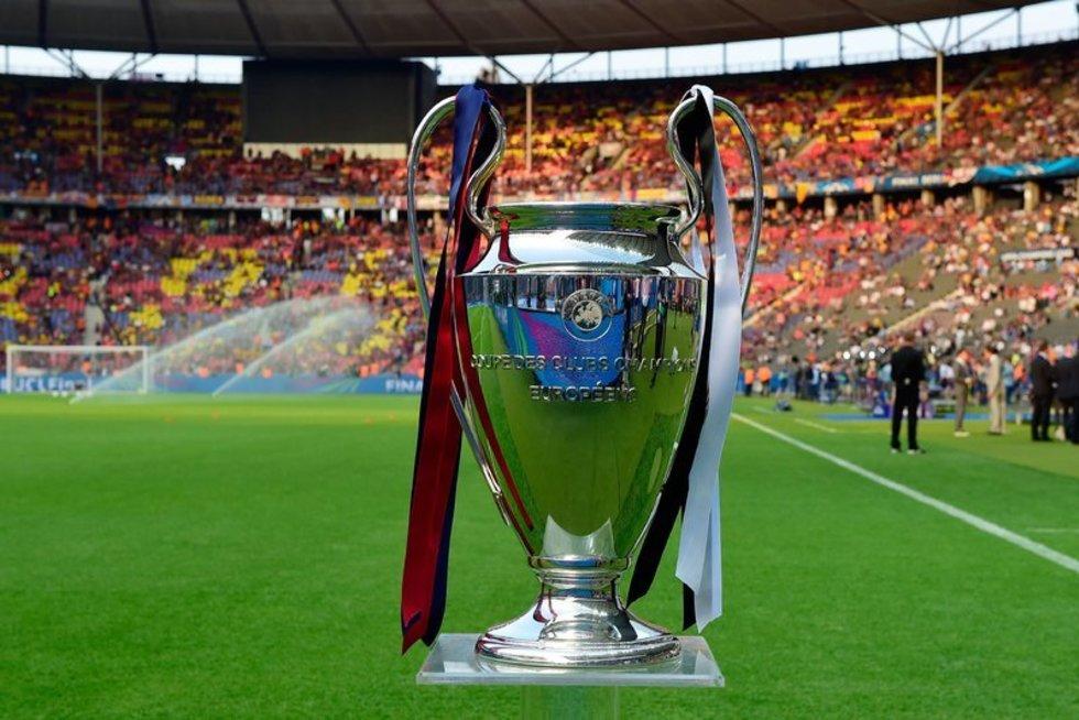 UEFA Čempionų lygos taurė (nuotr. SCANPIX)