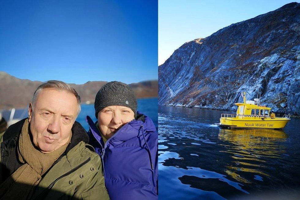 Larisa Kalpokaitė atostogavo Grenlandijoje (nuotr. asm. archyvo)