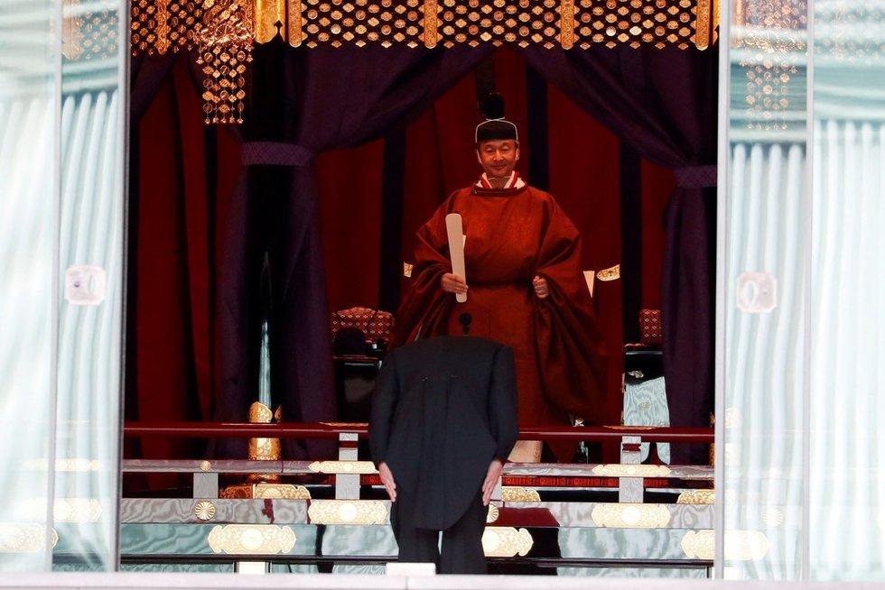 Japonijos imperatorius Naruhito (nuotr. SCANPIX)