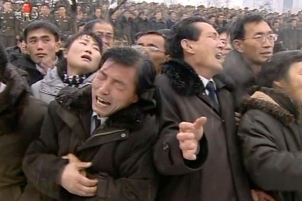 Istorinis susitikimas: ką apie amžiaus įvykį žino Šiaurės Korėjos gyventojai (nuotr. SCANPIX)
