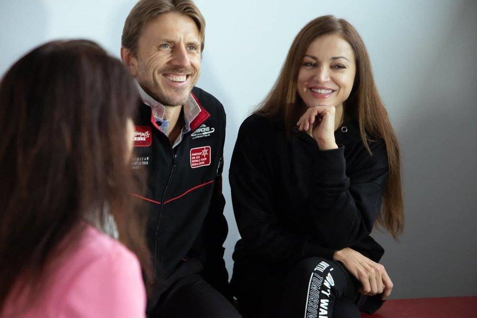 Povilas Vanagas ir Margarita Drobiazko (nuotr. Organizatorių)