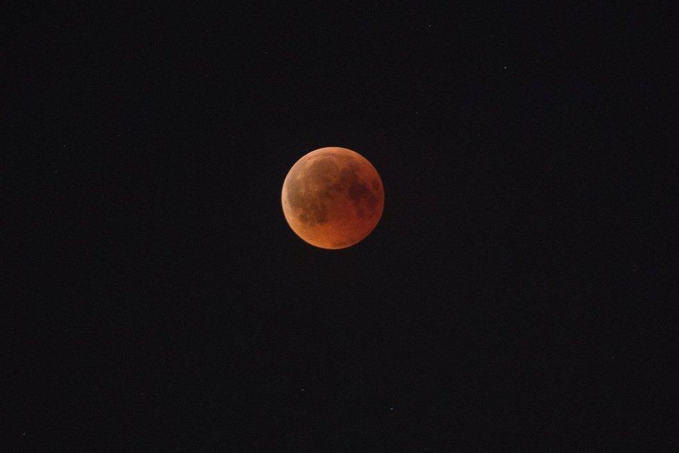 Mėnulis (nuotr. Broniaus Jablonsko)