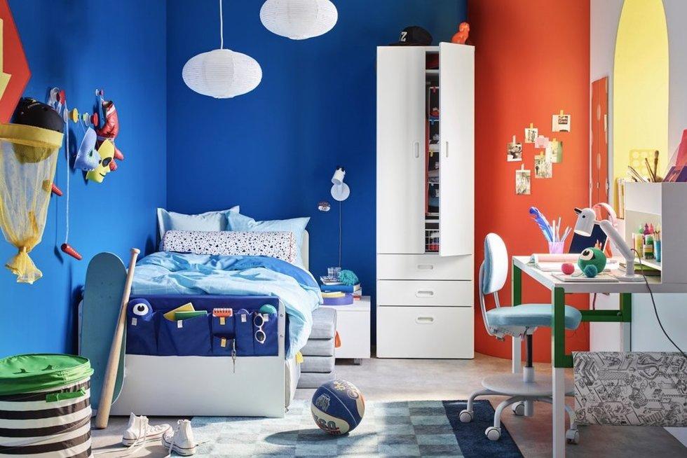 5 sprendimai kambariui, kuris auga kartu su vaiku