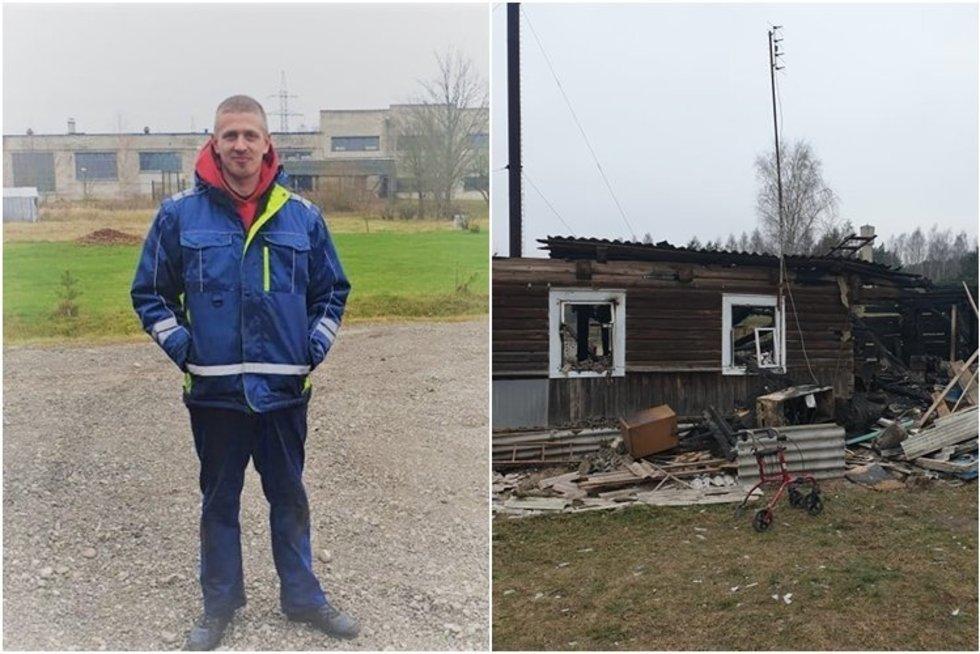 Andriaus Vyšniausko poelgis sujaudino šimtus žmonių (nuotr. facebook.com)
