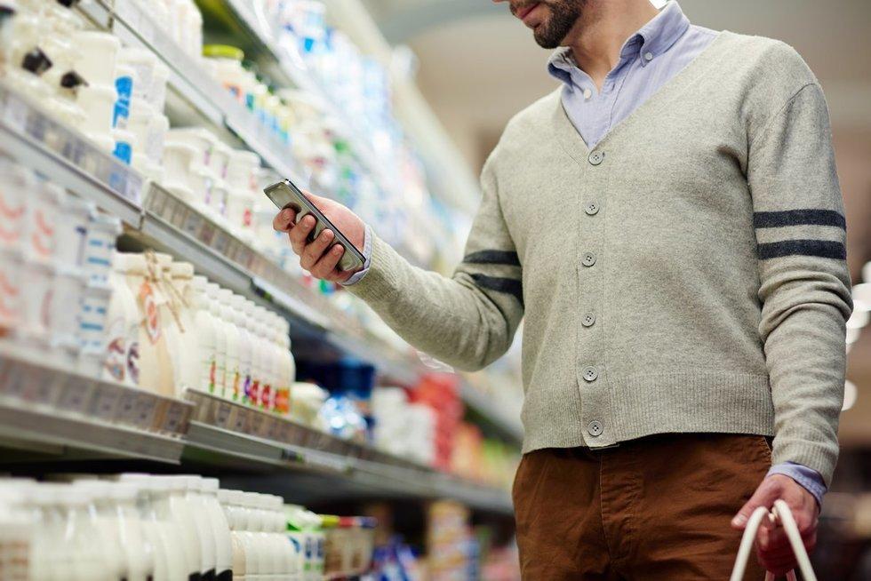 Parduotuvėje (nuotr. Fotolia.com)