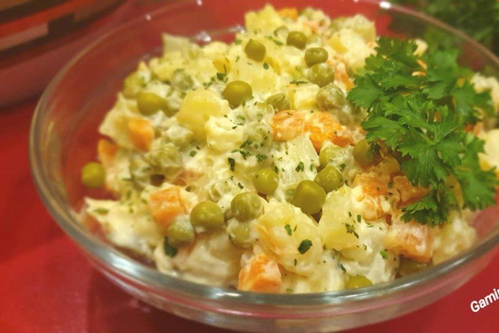Bulvių mišrainė (Gamink su Audrone nuotr.)