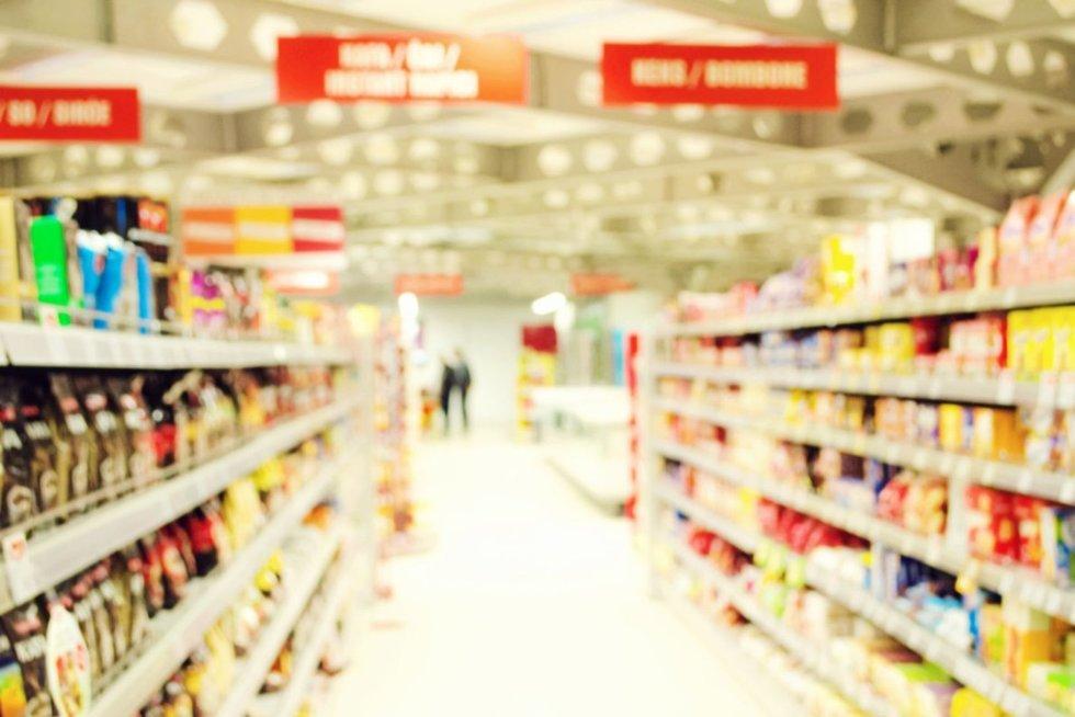 Prekybos centras (nuotr. 123rf.com)