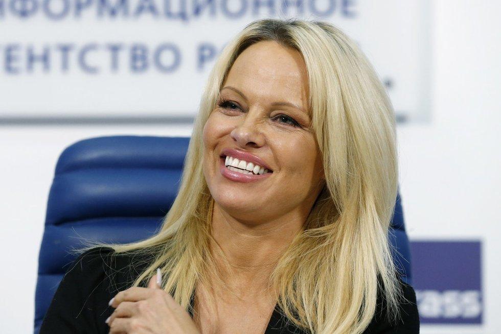 Pamela Anderson (nuotr. Vida Press)